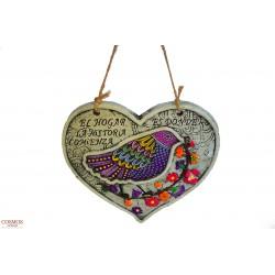 **Corazón Pájaro Decoración...