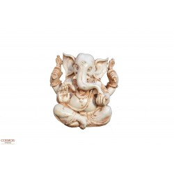 **Ganesha blanca 12cm