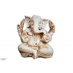 **Ganesha blanca 15cm