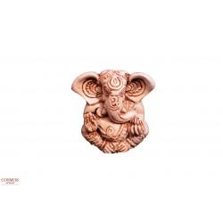 **Ganesha blanca 8cm
