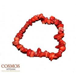 **Pulsera Coral Mineral...