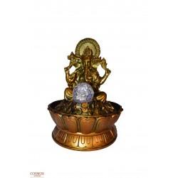 **Fuente Ganesha Dorada...
