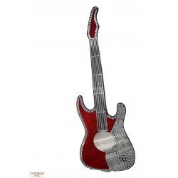 **Guitarra Espejo Mosaico...