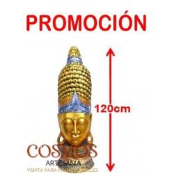 **Busto Buda Oro/Plata 120cm