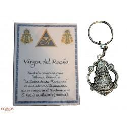 **Llavero Virgen del Rocío...