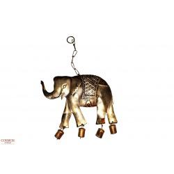**Móvil Elefante Metal
