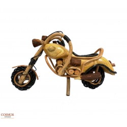 **Moto chopper madera...