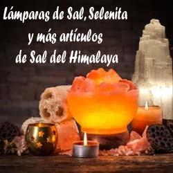 Lámparas de Sal y más...