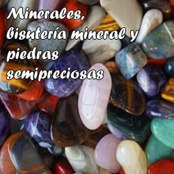 Minerales bisutería y...