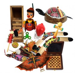 Juegos artesanales | Decoración | Venta al por mayor