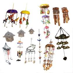 Llamadores de Viento y Colgadores Decorativos